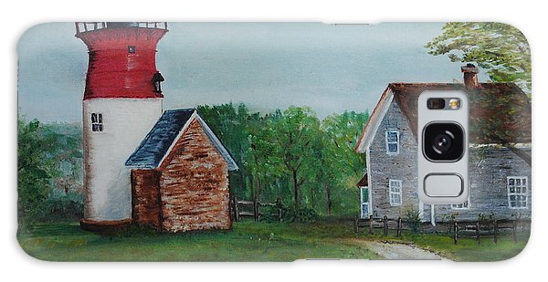 Marbelhead Lighthouse Galaxy Case