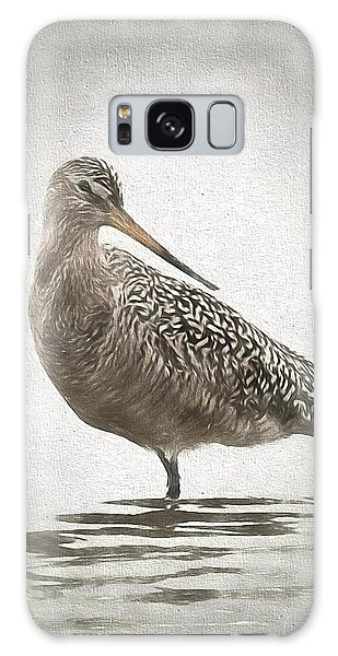 Marbled Godwit Galaxy Case