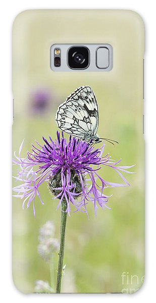 Mottled Galaxy Case - Marbled White Butterfly by Tim Gainey