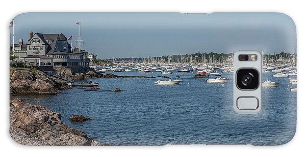 Marblehead Harbor Galaxy Case