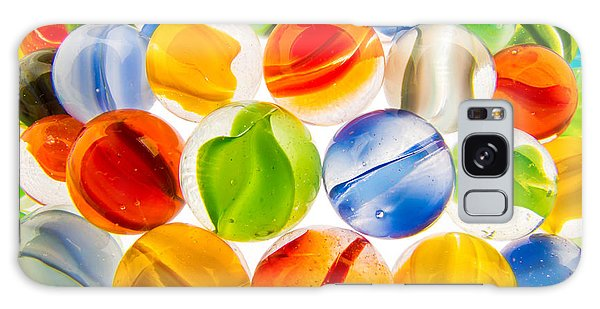 Marbles 3 Galaxy Case by Jim Hughes