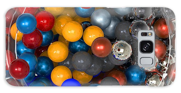 Marbles At Rest Galaxy Case