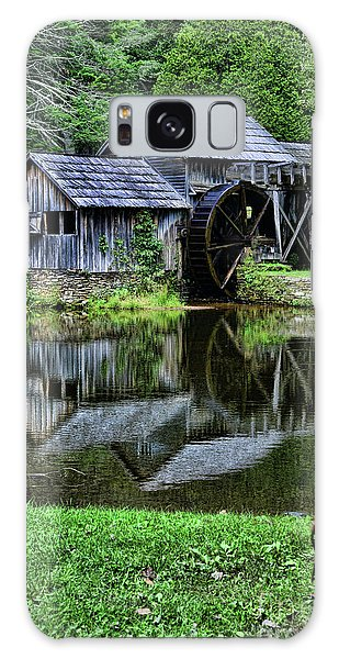 Marby Mill Reflection Galaxy Case by Paul Ward