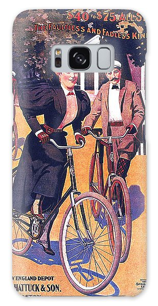 March Galaxy Case - March-davis Cycle Mfg Co - Bicycle - Vintage Advertising Poster by Studio Grafiikka