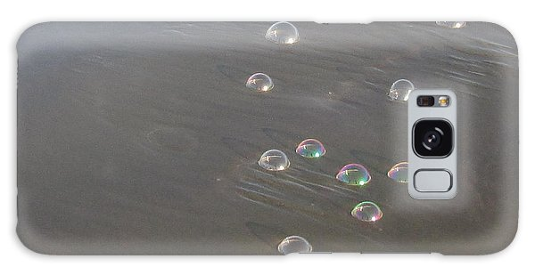 March Of The Bubbles Galaxy Case by Marie Neder
