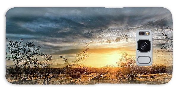 March Sunrise Galaxy Case
