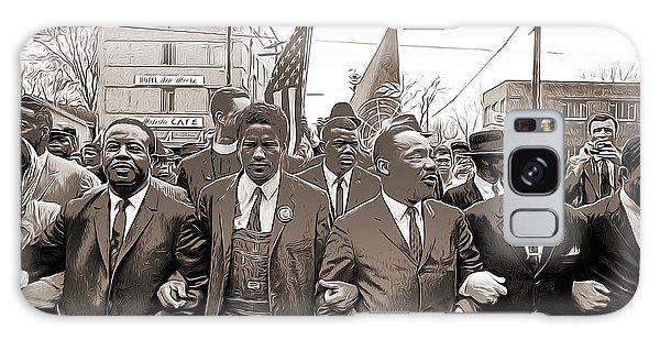 March Galaxy Case - March Through Selma by Greg Joens