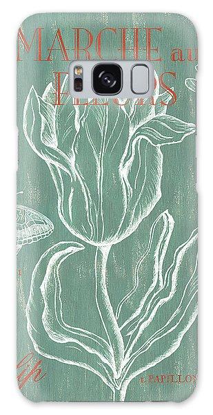 Flora Galaxy Case - Marche Aux Fleurs by Debbie DeWitt