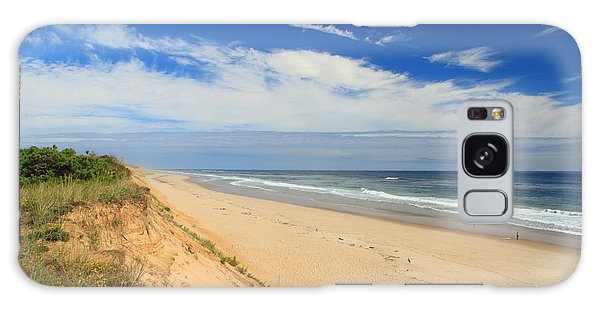 Marconi Beach Cape Cod National Seashore Galaxy Case by John Burk