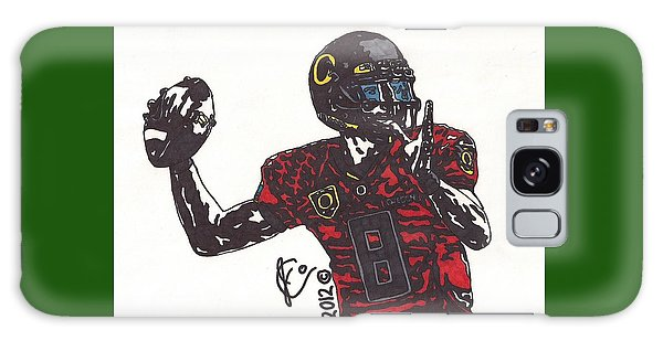 Marcus Mariota 1 Galaxy Case by Jeremiah Colley