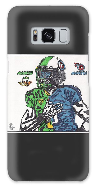 Marcus Mariota Crossover Galaxy Case by Jeremiah Colley