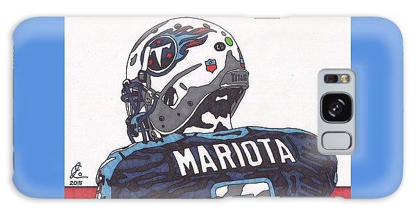 Marcus Mariota Titans 2 Galaxy Case