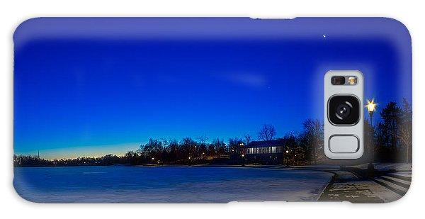 Marcy Casino Winter Twilight Galaxy Case by Chris Bordeleau