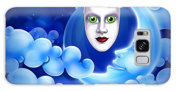 Mardi Gras At Night Galaxy Case by Gary Crockett