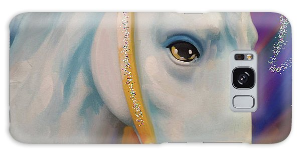 Mardi Gras Horse Galaxy Case