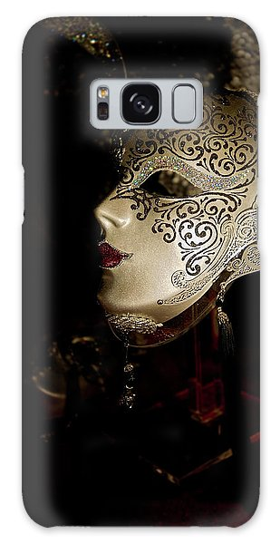 Mardi Gras Mask Galaxy Case