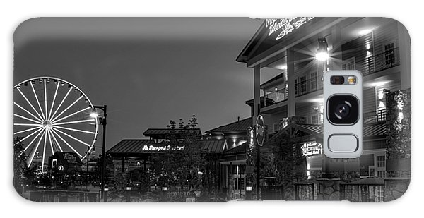 Margaritaville Island Hotel In Black And White Galaxy Case