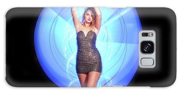 Maria Bringing Magic To The Night. Galaxy Case