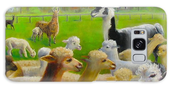 Mariah Guards The Herd Galaxy Case by Oz Freedgood