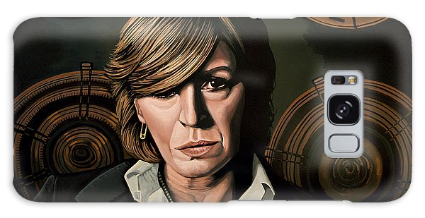 Rolling Stone Magazine Galaxy Case - Marianne Faithfull Painting by Paul Meijering