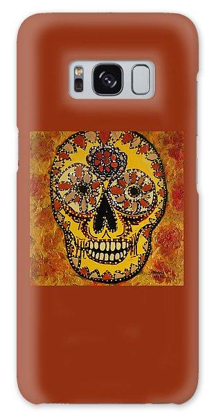 Marigold Skull Galaxy Case