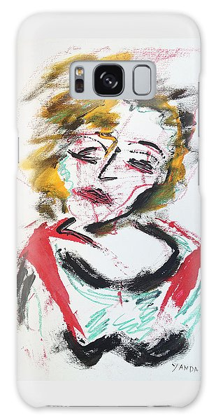 Marilyn Abstract Galaxy Case
