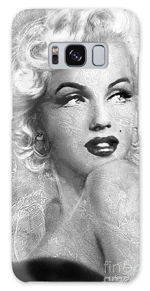 Marilyn Danella Ice Bw Galaxy Case
