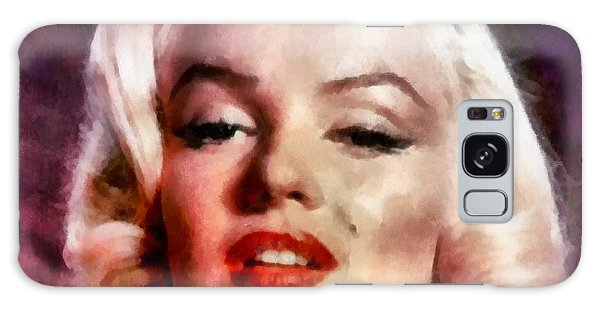 Marilyn Monroe 12 Galaxy Case