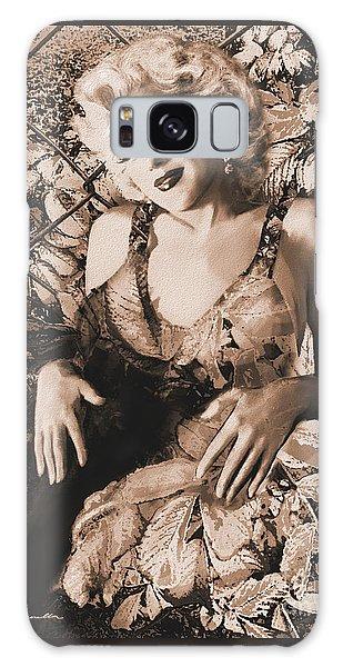 Marilyn Monroe 126 A 'sepia' Galaxy Case