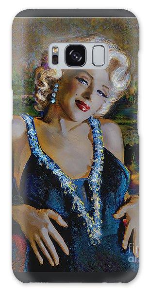 Marilyn Monroe 126 Monalisa Galaxy Case