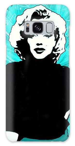 Marilyn Monroe Blue Green Aqua Tint Galaxy Case