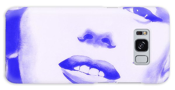 Marilyn Monroe - Blue Tint Galaxy Case