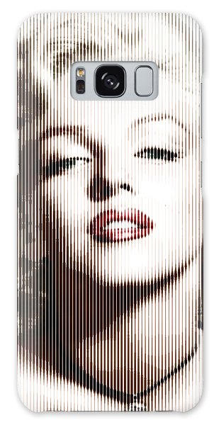 Marilyn Monroe - Colored Verticals Galaxy Case