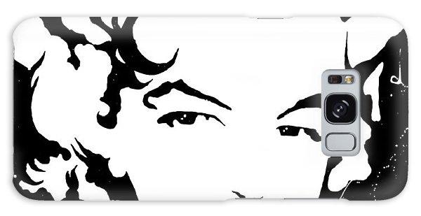 Marilyn Monroe Galaxy Case by Curtiss Shaffer
