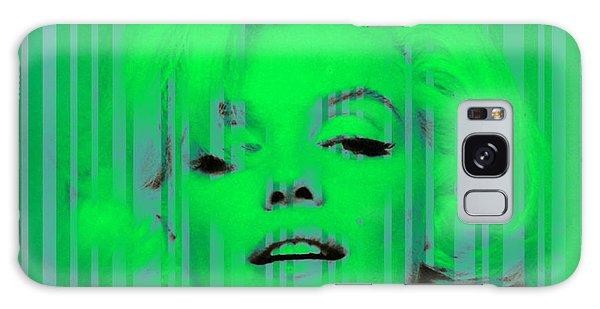 Marilyn Monroe In Green Galaxy Case