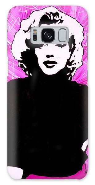 Marilyn Monroe In Hot Pink Galaxy Case
