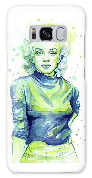 Actors Galaxy S8 Case - Marilyn Monroe by Olga Shvartsur