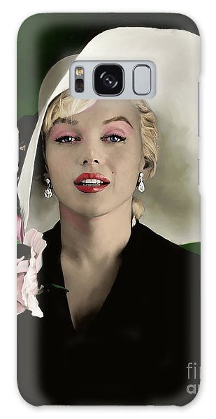 Actors Galaxy S8 Case - Marilyn Monroe by Paul Tagliamonte