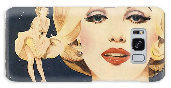 Marilyn Monroe Stamp Galaxy Case