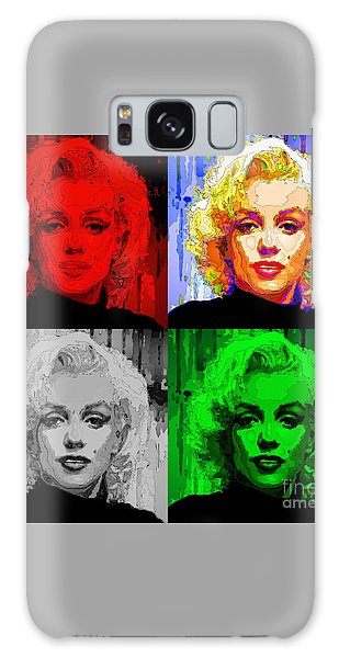 Marilyn Monroe - Quad. Pop Art Galaxy Case