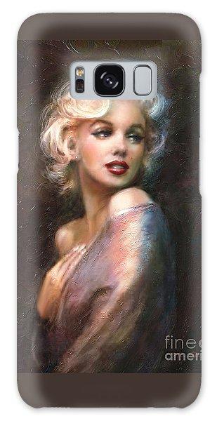 Portraits Galaxy S8 Case - Marilyn Romantic Ww 1 by Theo Danella