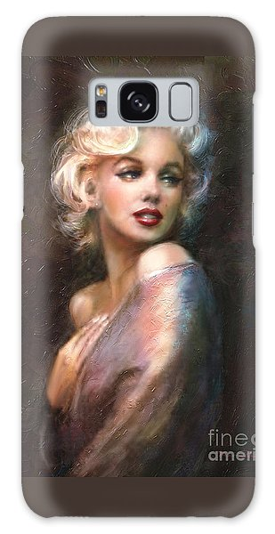 Actors Galaxy S8 Case - Marilyn Romantic Ww 1 by Theo Danella
