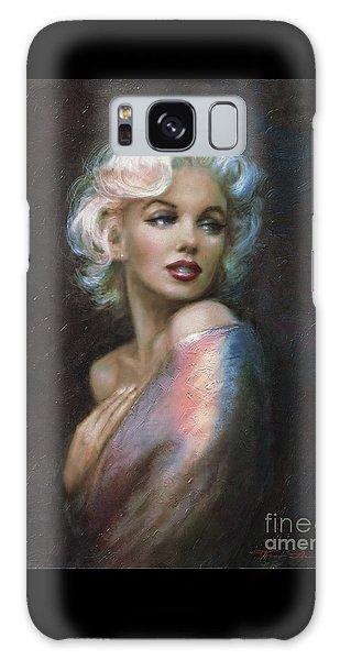 Marilyn Romantic Ww 4 Blue Galaxy Case