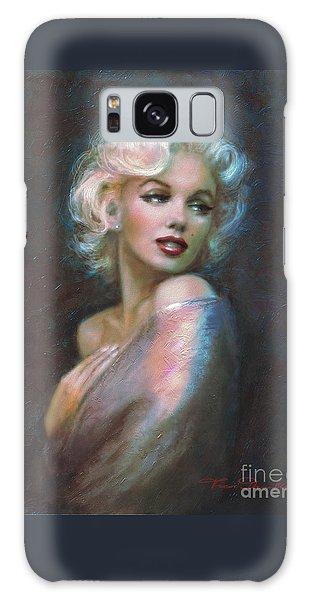 Marilyn Romantic Ww Dark Blue Galaxy Case