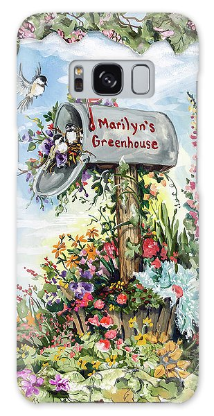 Marilyn's Greenhouse Galaxy Case