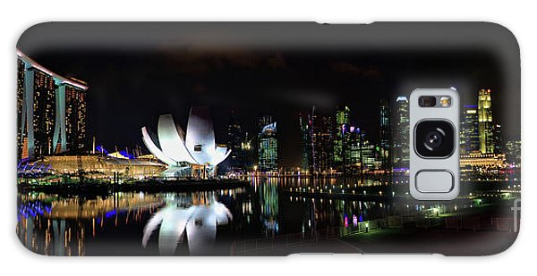 Marina Bay Sands Galaxy Case by Joerg Lingnau