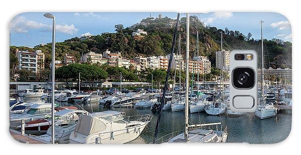 Powerboat Galaxy Case - Marina In Blanes Town In Spain by Artur Bogacki