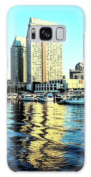 Marina Reflections Galaxy Case