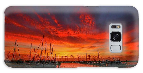 Marina Sunrise - Ft. Pierce Galaxy Case