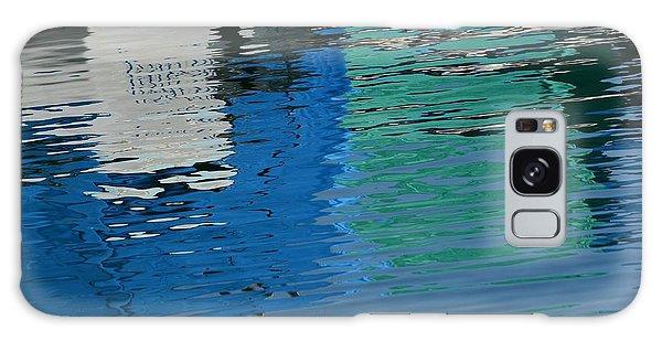 Marina Water Abstract 1 Galaxy Case by Fraida Gutovich